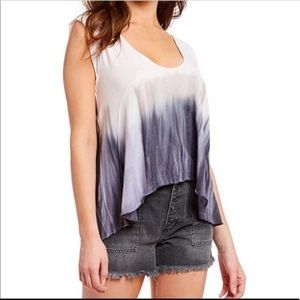 Free People Paradise Lilac Fog Combo Top